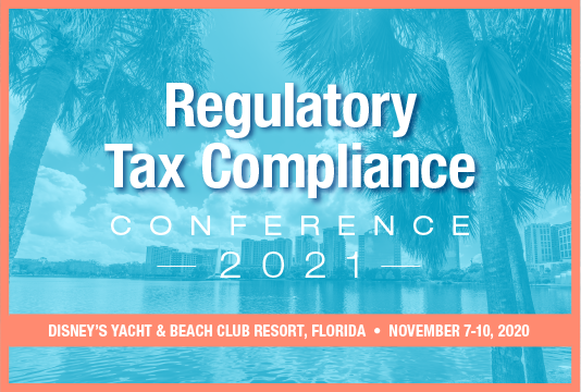 Regulatory Tax Compliance Conference 2021 Poster